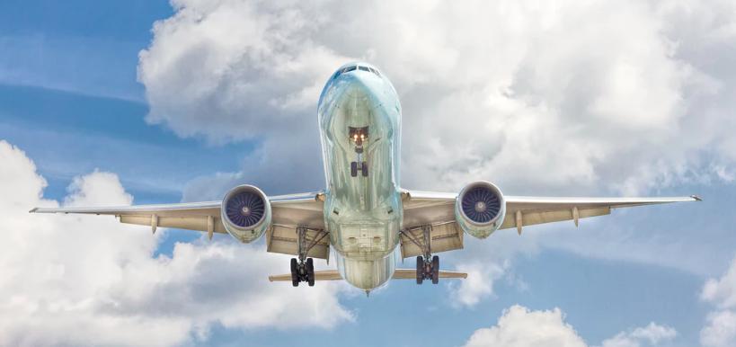 JET Airways vliegtuig volgen