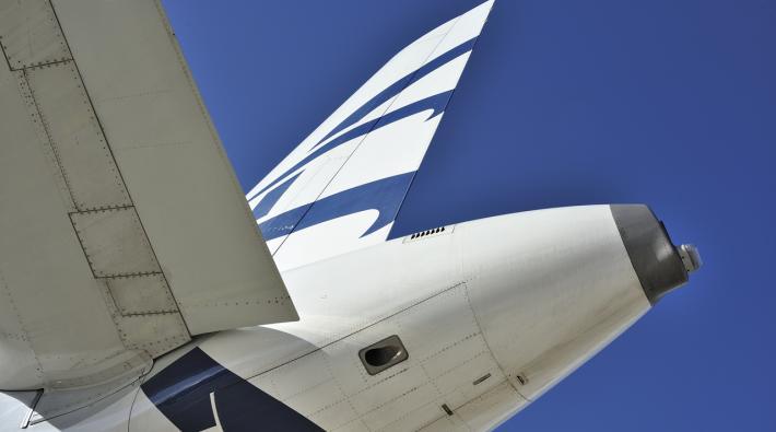 Aegean Airlines Vliegtuig Volgen