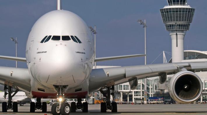 Munchen Airport Airbus A380