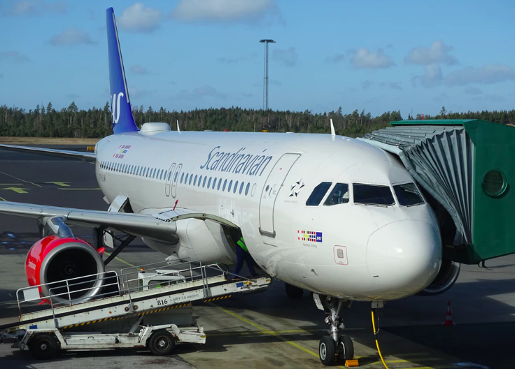 SAS Scandinavian Airlines Staking
